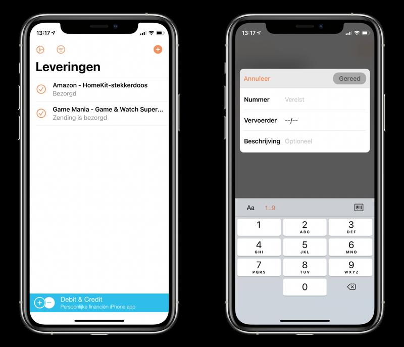 Parcel: beste keuze voor apps om pakketjes te volgen.