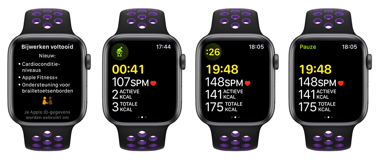 Apple Fitness+ Nederland op Apple Watch