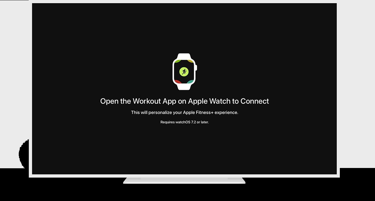 Fitness+ op Apple TV