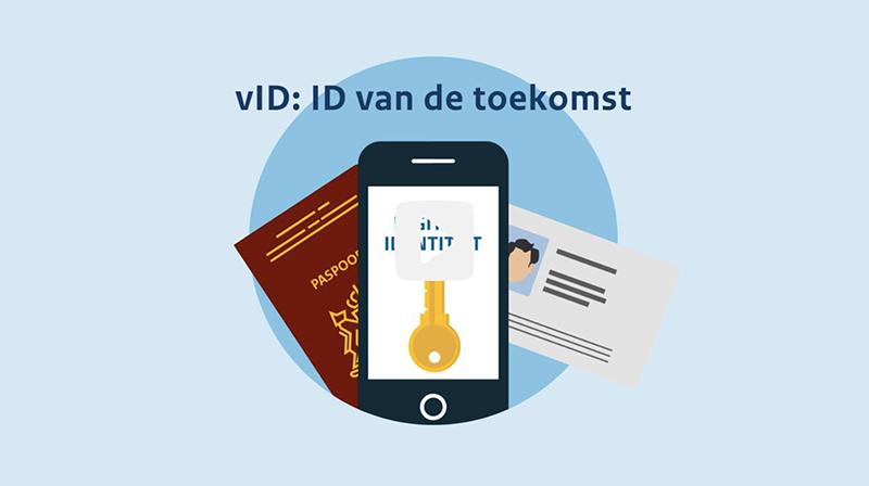 vID app op iPhone