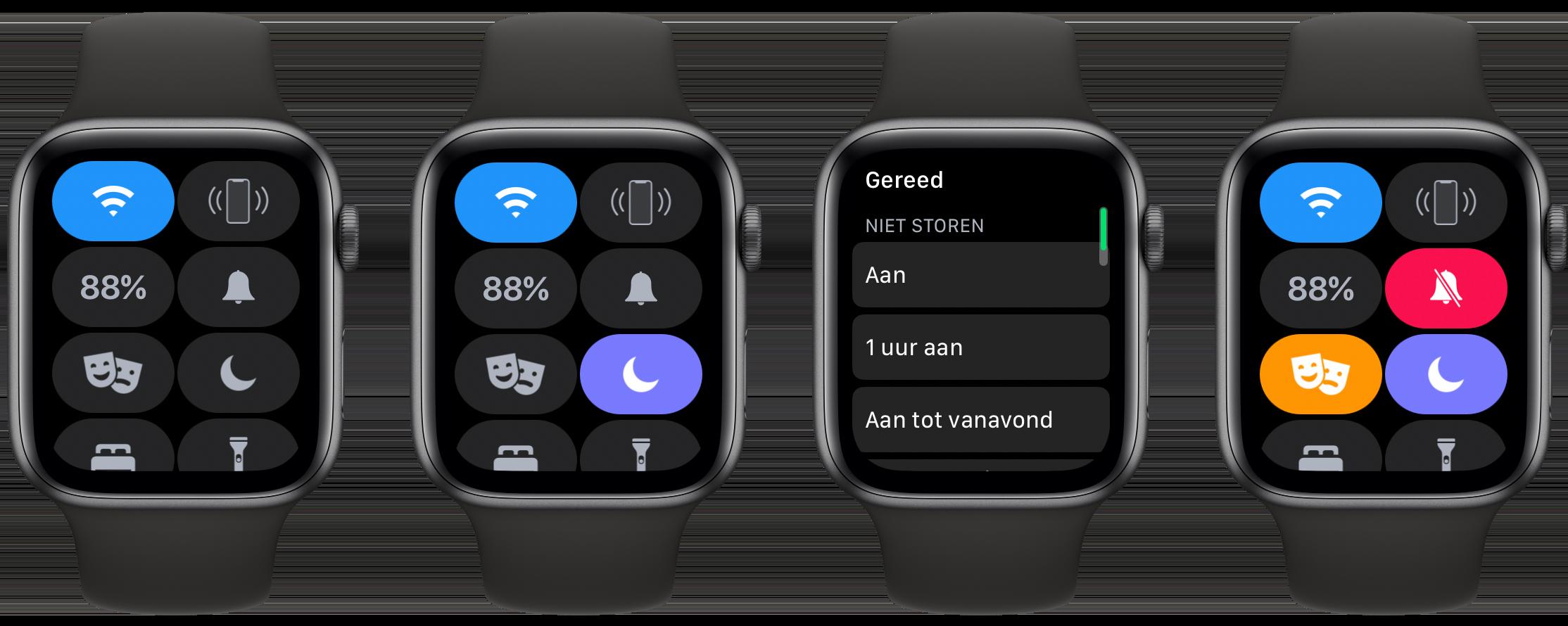 Apple Watch Niet Storen