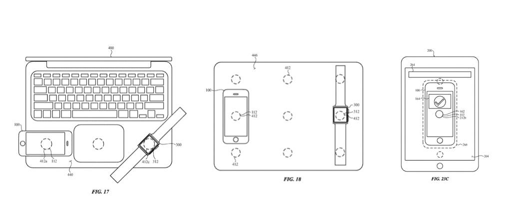 Patent voor reverse charging: MacBook als draadloze oplader voor andere apparaten.
