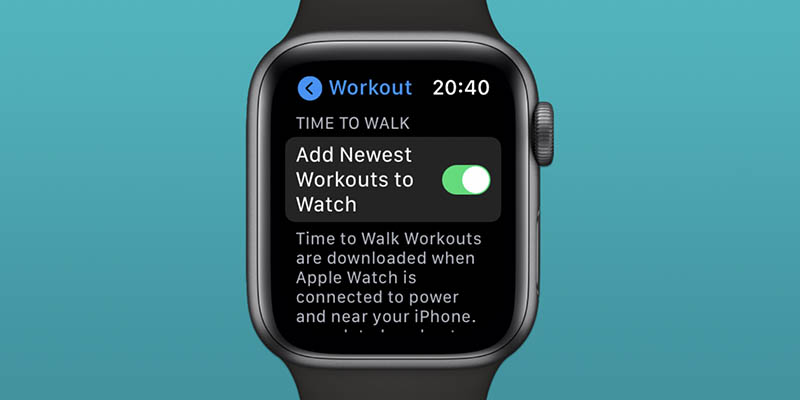 Time to Walk workout