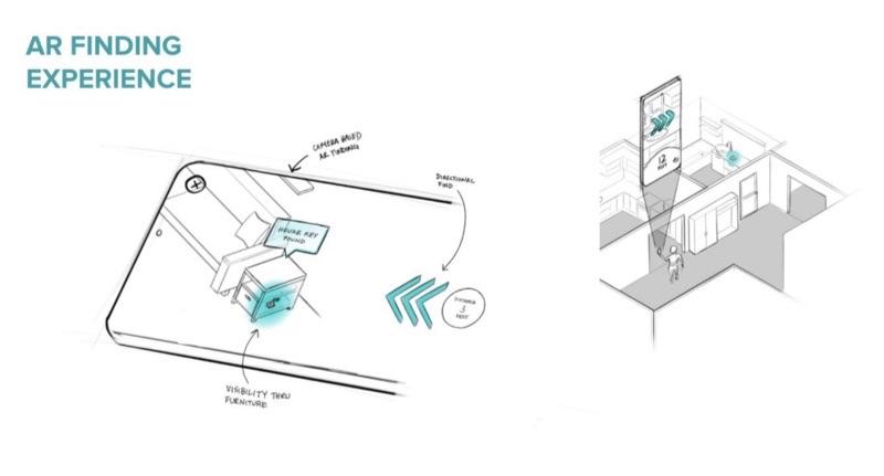 Tile werkt aan eigen AR-mogelijkheden voor UWB-tracker