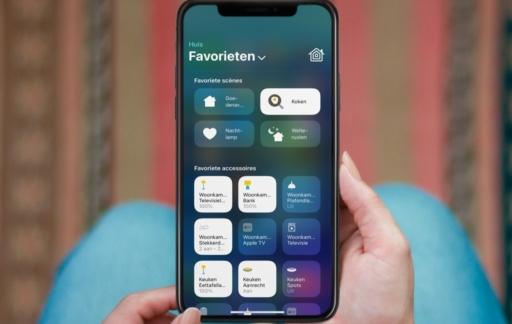 HomeKit bedienen vanaf iPhone.