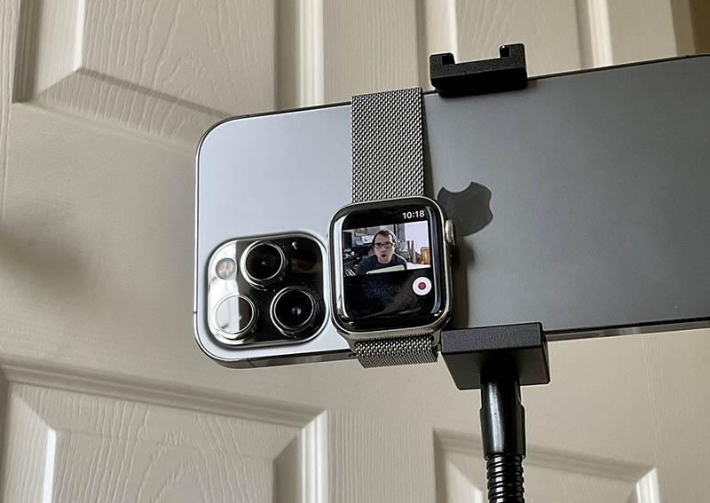 Apple Watch viewfinder