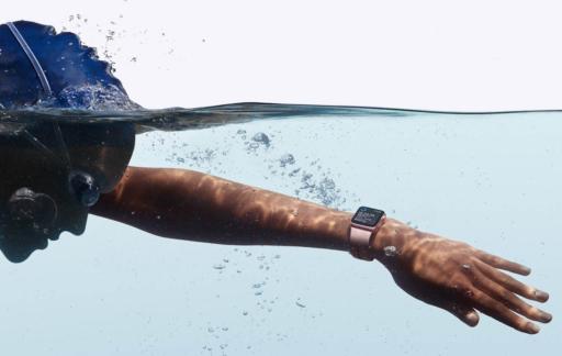 Apple Watch zwemmen
