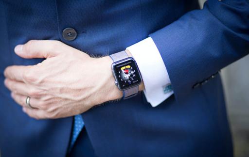 Apple Watch met Mickey Mouse-wijzerplaat
