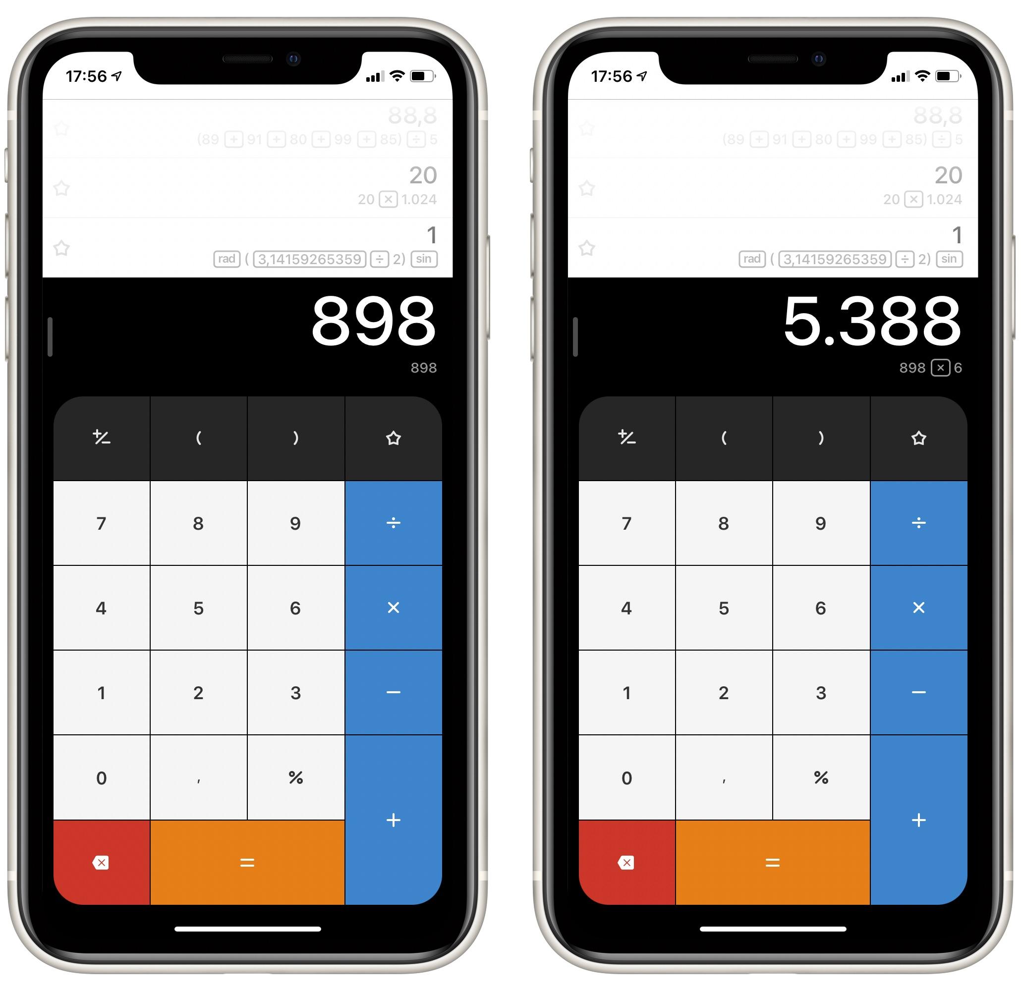 CalcBot voor iPhone