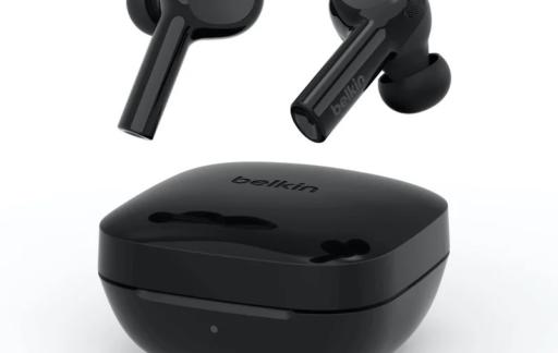 Belkin Soundcore Freedom True Wireless Earbuds in zwart.