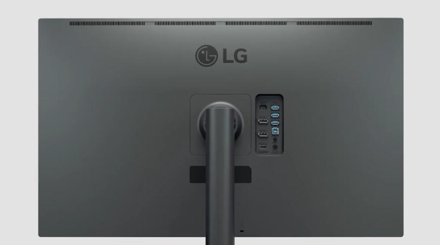 LG 4K OLED UltraFine achterkant
