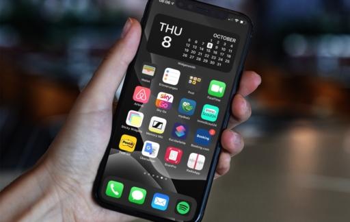 Widgetsmith op iPhone