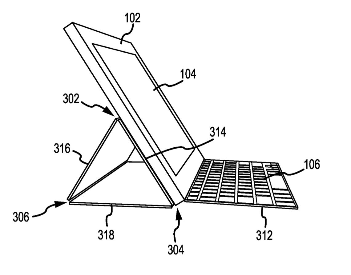 Patent Smart Keyboard open