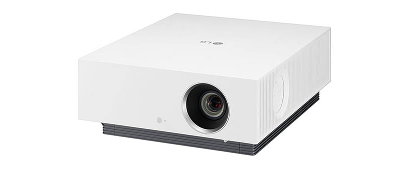 LG laserprojector met AirPlay 2