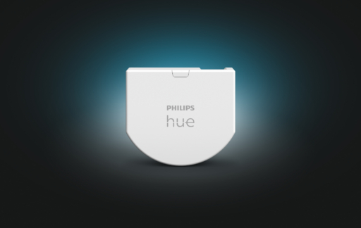 Philips Hue wall switch module.
