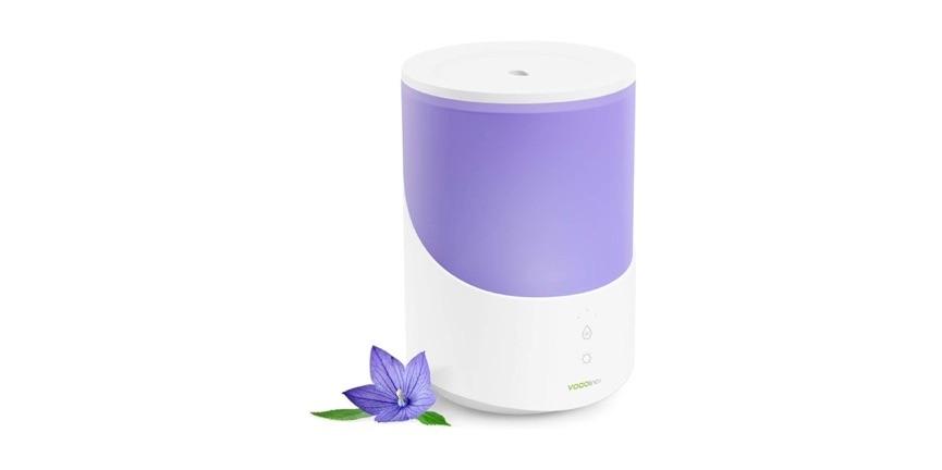 De VOCOlinc luchtbevochtiger en smart lamp