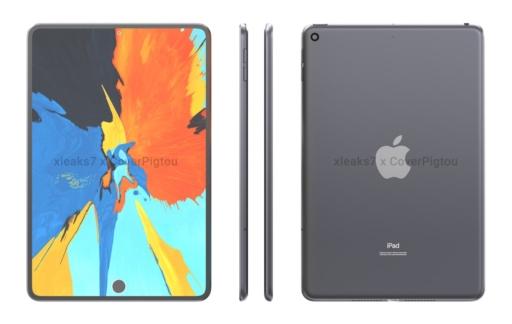 iPad mini 6 render