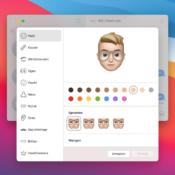 Memoji voor Mac gebruiken
