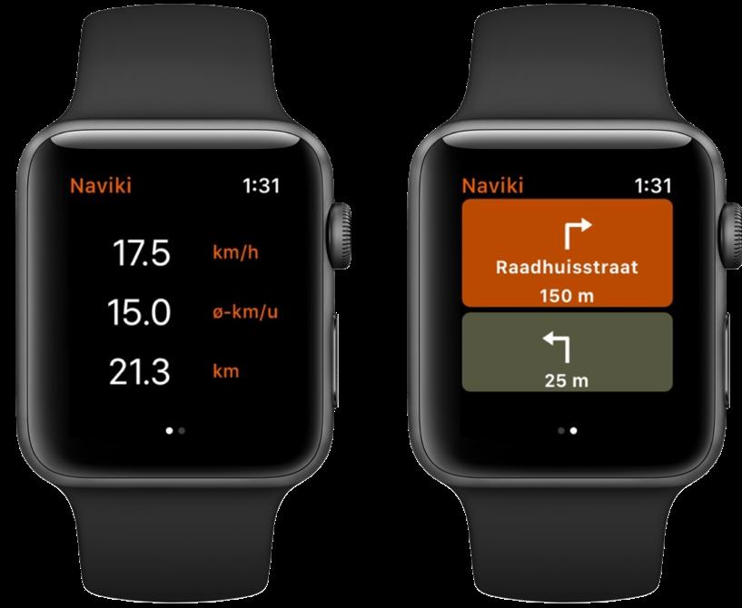Naviki Apple Watch