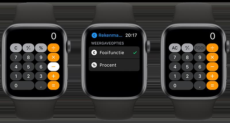 Apple Watch fooien
