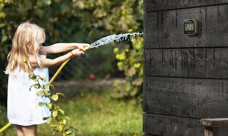 Eve Degree in de tuin