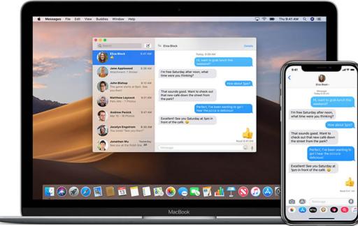 Berichten app MacOS
