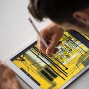 Apple Pencil lifestyle afbeelding