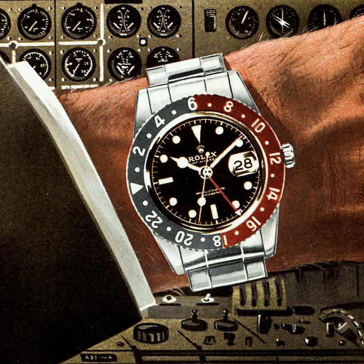 Rolex GMT Master horloge.