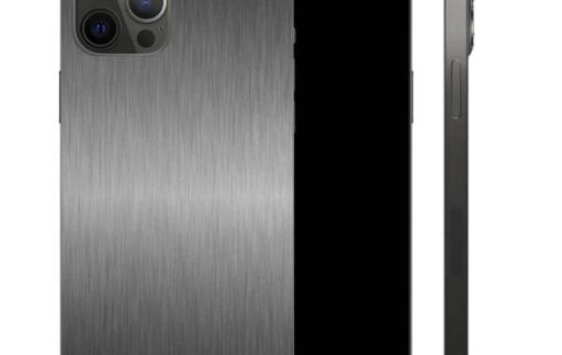 Titanium skin voor iPhone
