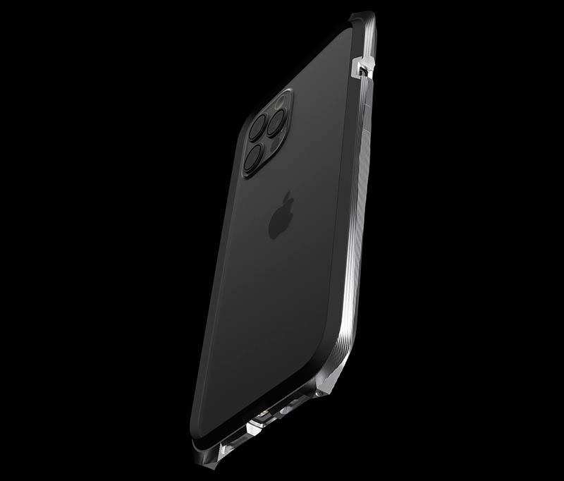Titanium case van Gray