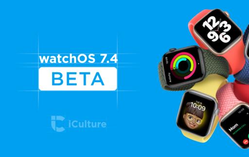 watchOS 7.4 beta.