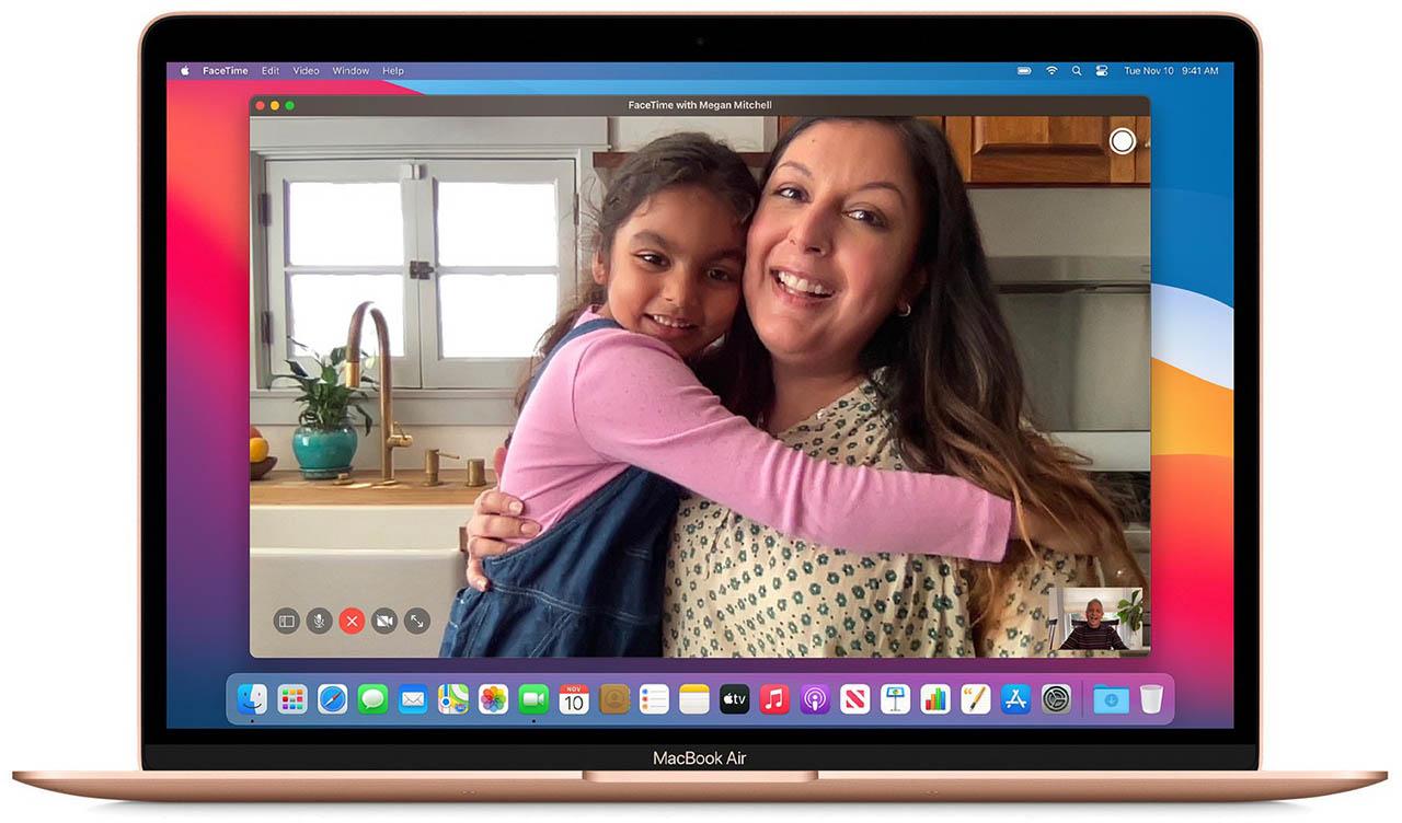 FaceTime op MacBook Air