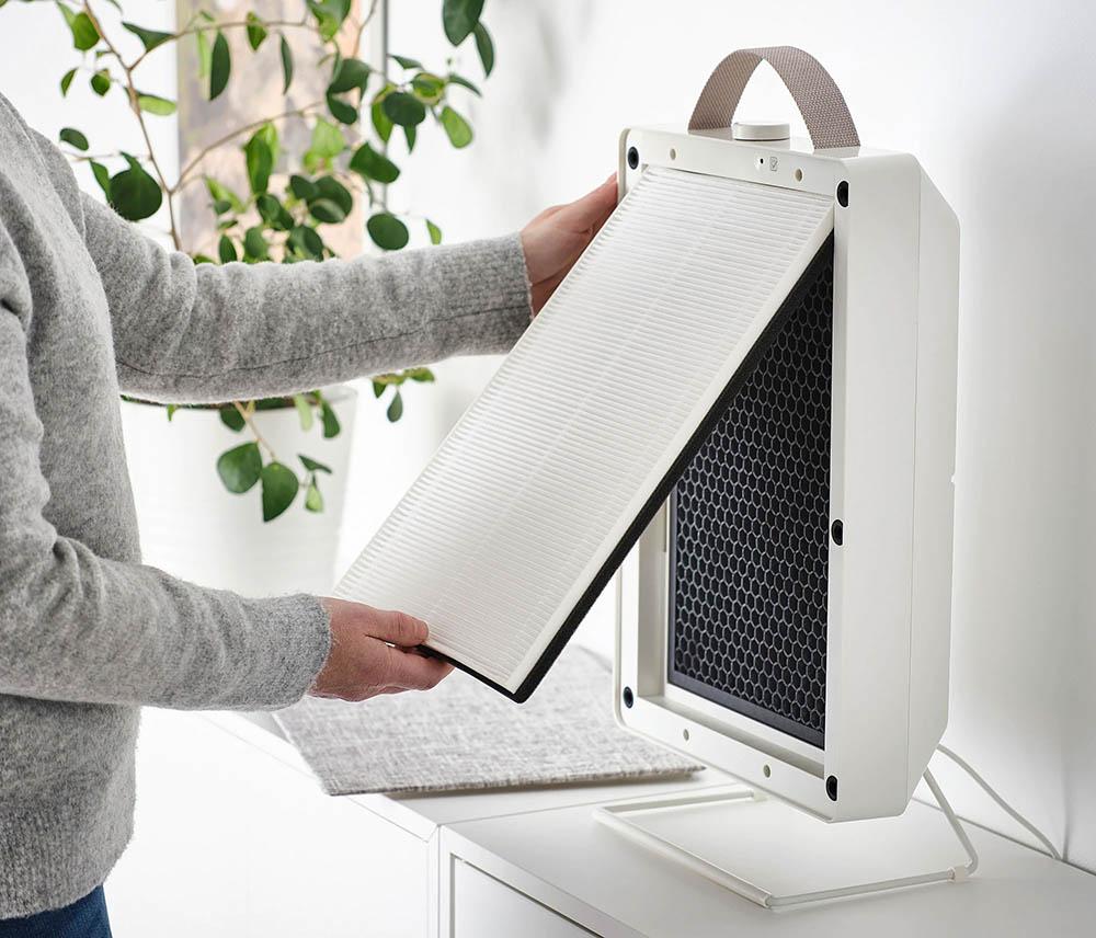 IKEA Fornuftig luchtreiniger filter verwisselen