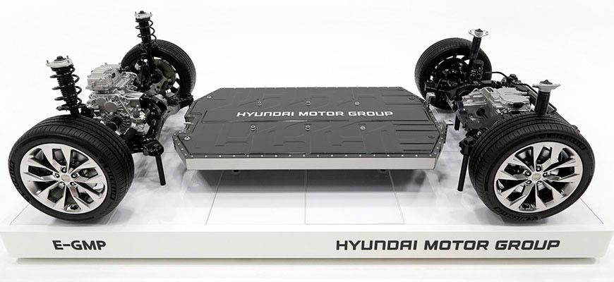 Hyundai E-GMP chassis