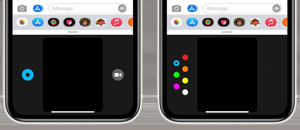 Digital Touch-kleuren op de iPhone kiezen
