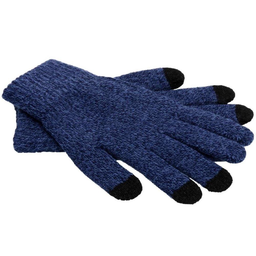 iMoshion blauwe touchscreen handschoenen.