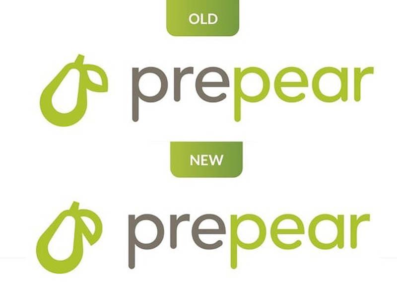 Prepear nieuw logo