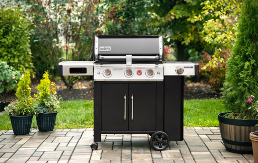 Weber connected barbecue