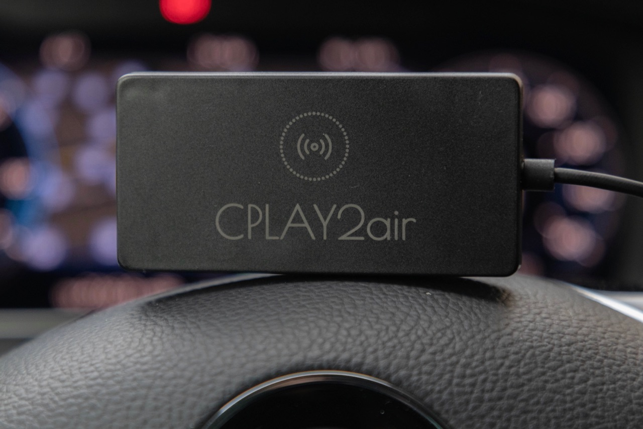CPLAY2air draadloze CarPlay adapter