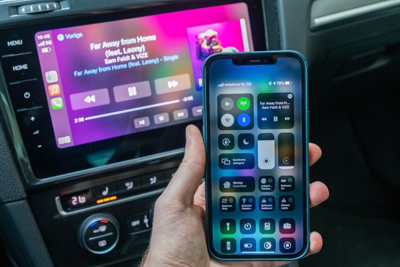 CPLAY2air voor draadloos CarPlay
