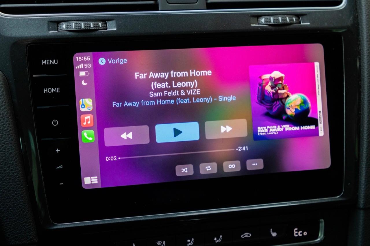CarPlay draadloos gebruiken