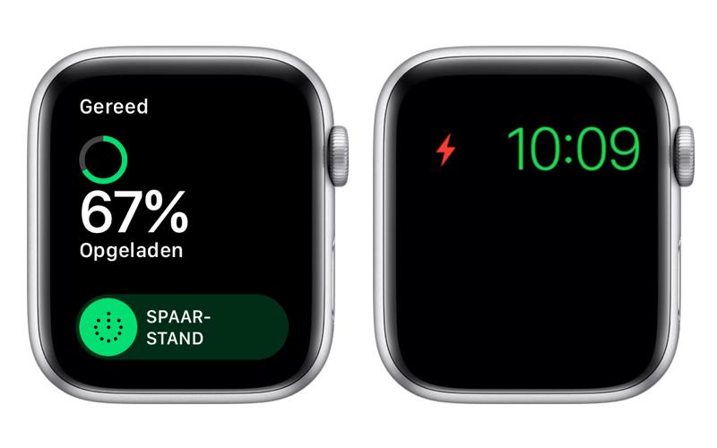 Spaarstand op de Apple Watch activeren.