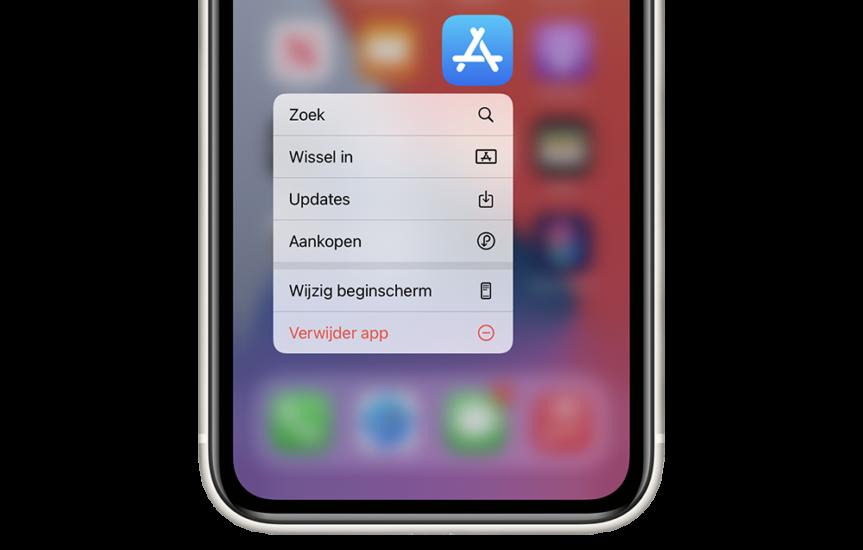 Apps updaten in App Store
