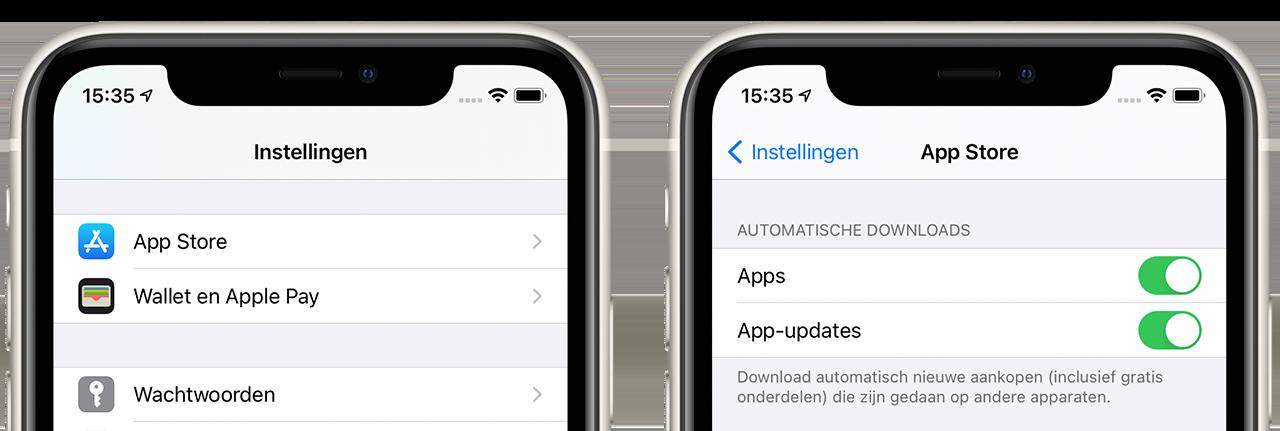 Automatisch apps updaten