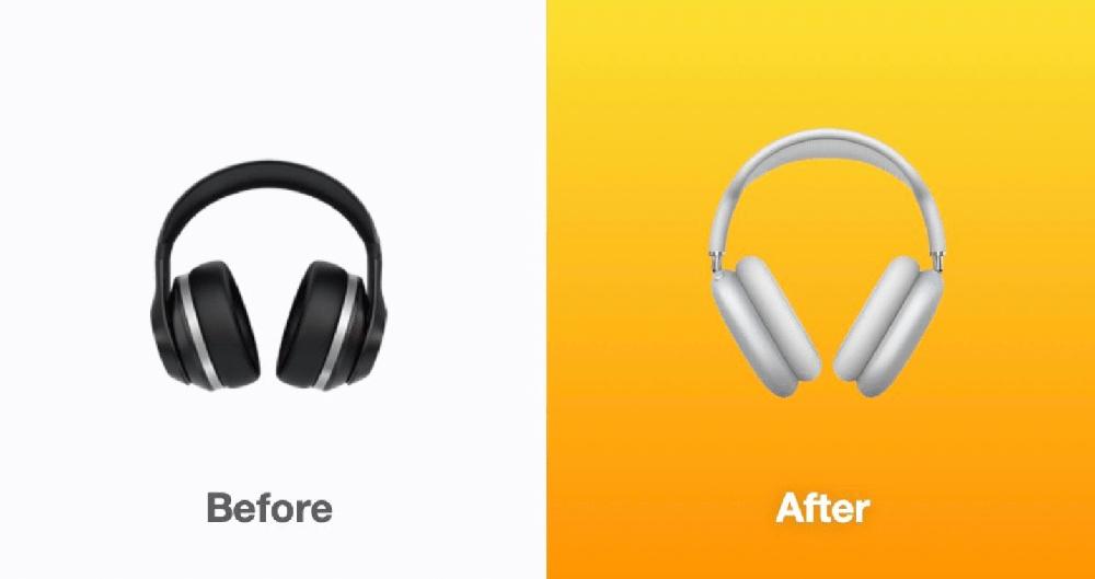 iOS 14.5 hoofdtelefoon