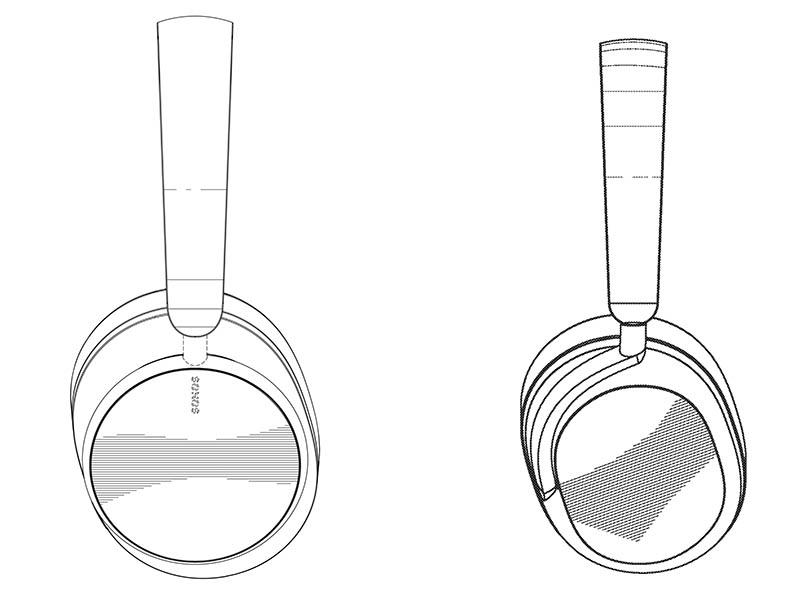 Sonos hoofdtelefoon van de zijkant