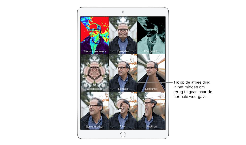 Effecten-Photo-Booth-iPad-iPadOS
