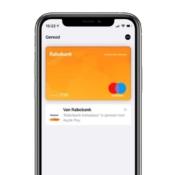 Rabobank Apple Pay-kaart voor gezamenlijke rekening.