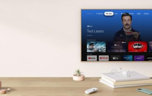Apple TV op Chromecast