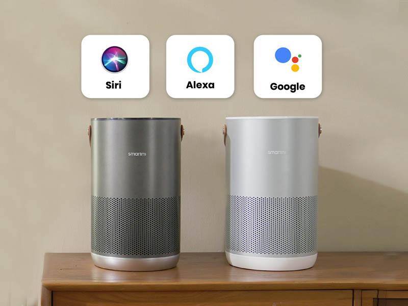 Smartmi HomeKit, Siri, Alexa en Google